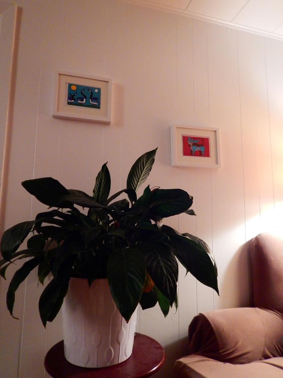 Une partie de notre ancien salon